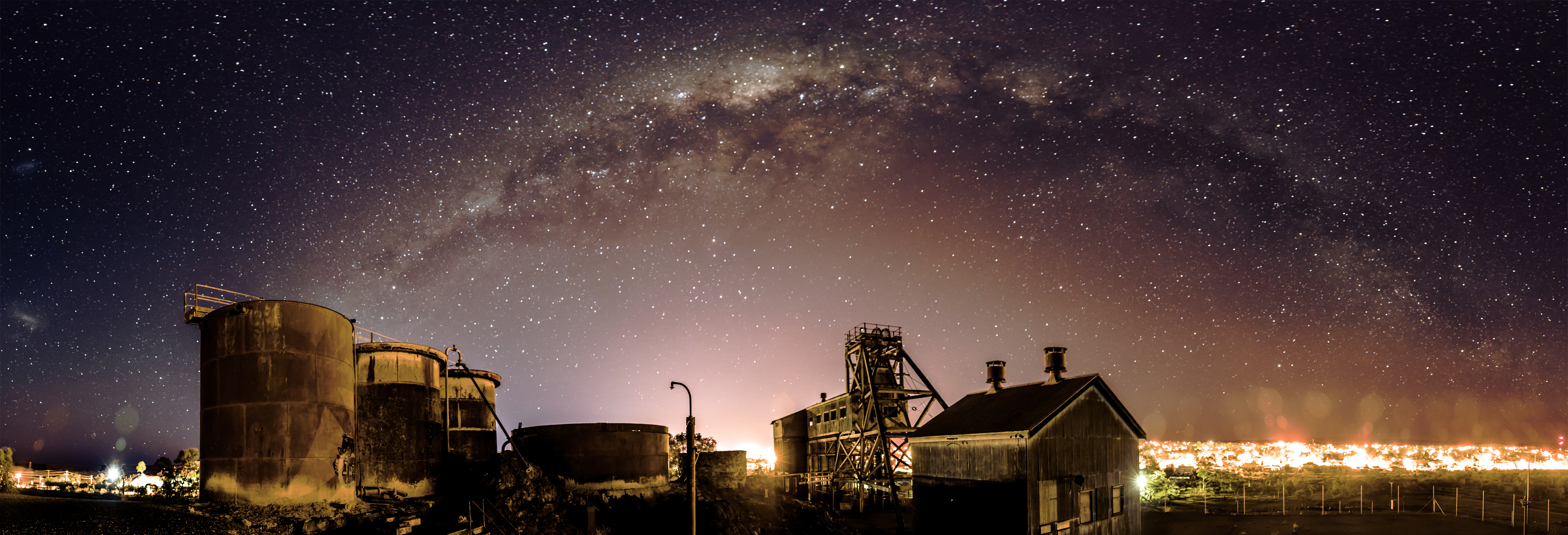 Junction Mine and the Milky Way