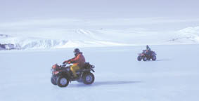 Photo of quad bikes
