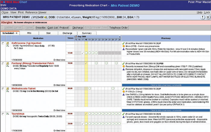 Implementing Electronic Medication Management At An