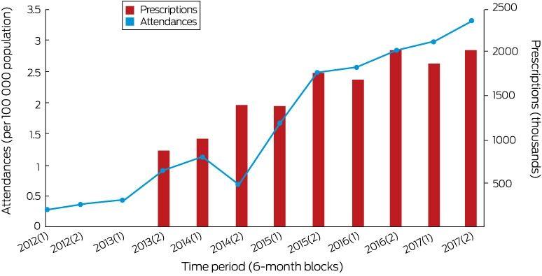 Pregabalin misuse‐related ambulance attendances in Victoria, 2012