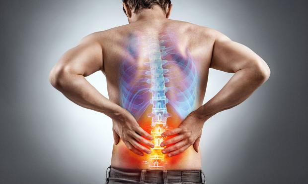 Image of low back pain