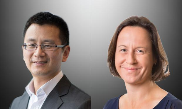 Professor Allen Cheng and Professor Deborah Williamson