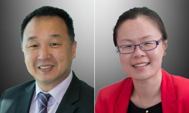 Professor Henry Woo and Dr Amy Teh